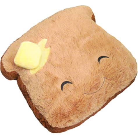 squishable comfort food toast comfort food toast an adorable fuzzy plush to snurfle and