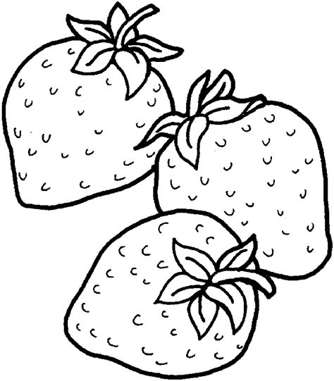 coloring page for strawberry strawberry coloring pages coloring home
