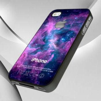 Just Do It Nebula White Iphone All Hp purple galaxy nebula with apple logo for iphone 4 4s