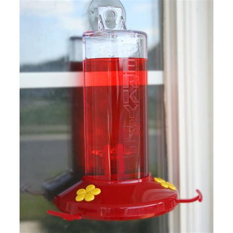 perky pet 8 ounce window mount hummingbird feeder