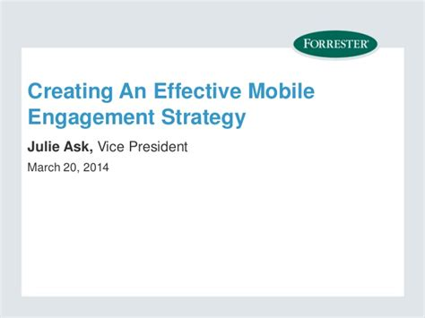 research matter a psychologist s guide to engagement books 4 step guide to mobile engagement presented by forrester