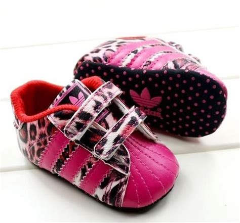 pink leopard adidas shoes baby s shoes baby baby shoes baby