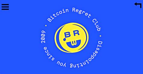 bitcoin invest club bitcoin regret club shows what you could have if you