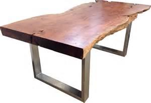 holzstamm tisch esstisch aus einem baumstamm der tischonkel