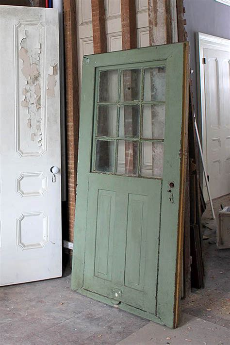 Door Salvage Step 1 Choose Your Door Easy As It Sounds Salvaged Glass Doors