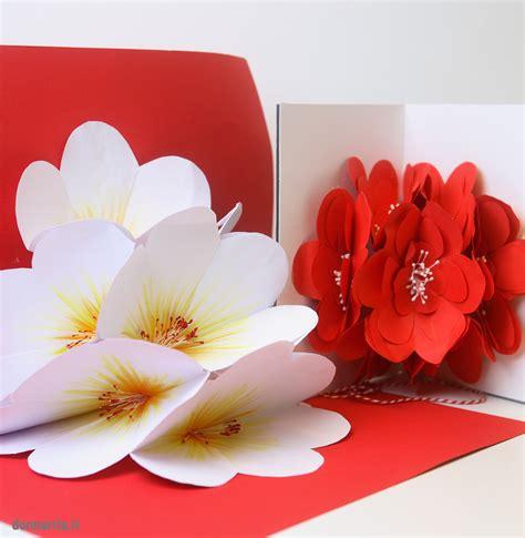 libro sui fiori bouquet fiori pop up donnarita