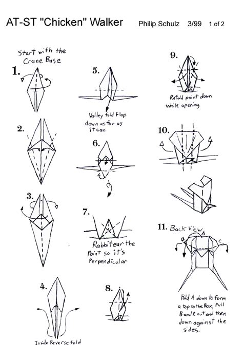 how to fold origami chewbacca wars origami