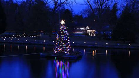 christmas tree lighting in boiling springs boiling