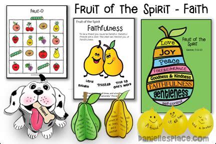 fruit of the spirit kjv fruit of the spirit faith bible lesson kjv printable