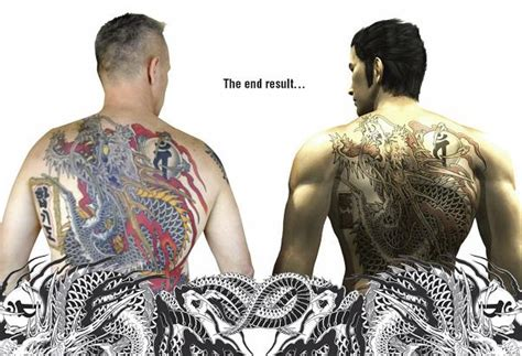 man wins kazuma kiryu s 9000 back tattoo