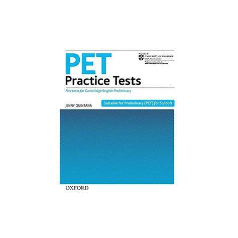 pet test pet practice tests with key cds