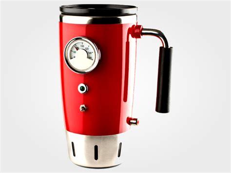 Hot Rod Heated Travel Mug   GearMoose