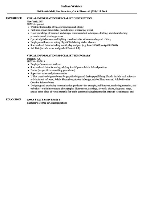 Resume Key Terms by Information Technology Specialist Resume It Support