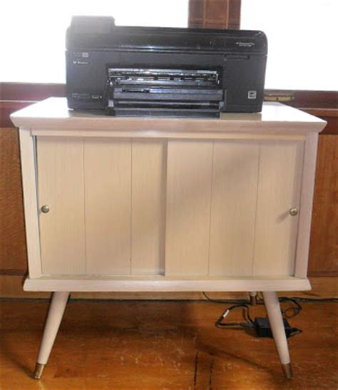 treasures in thrifting land vintage record cabinet