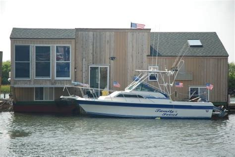 houseboat nj houseboats non powered fiberglass mariner iii for sale in