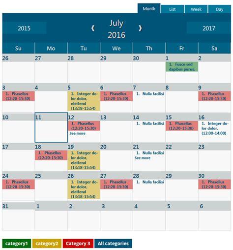 latest wordpress event calendar timetable