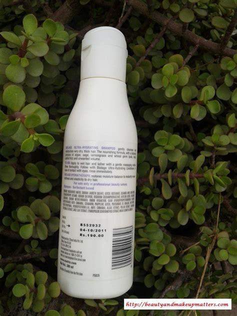 Matrix Ultra Hydra Shoo matrix biolage ultra hydrating shoo makeup and
