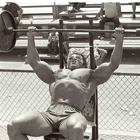 muscle media bench press muscle media bench press routine arnold muscle beach