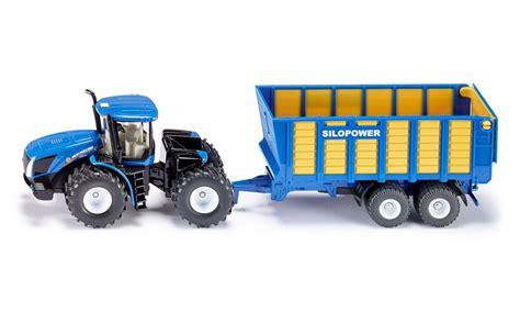 Tracteur Avec Remorque D Ensilage Tracteurs Remorques