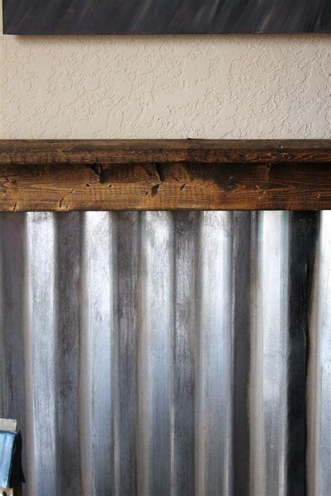 Tin Wainscoting Panels Corrugated Metal Walls On Corrugated Metal