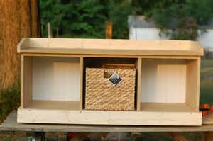 entry storage bench plans free nortwest woodworking