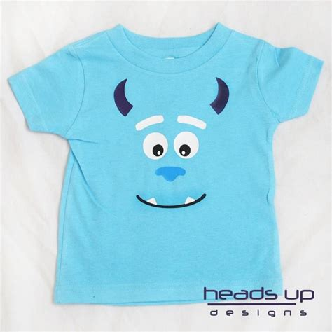 t shirt onesie pattern monsters inc sulley shirt boy girl baby adult toddler