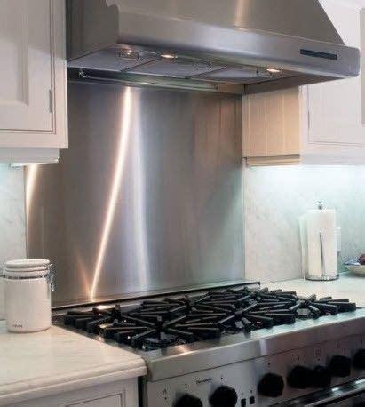 stainless steel kitchen backsplash ideas stainless steel backsplash http www frigodesign com