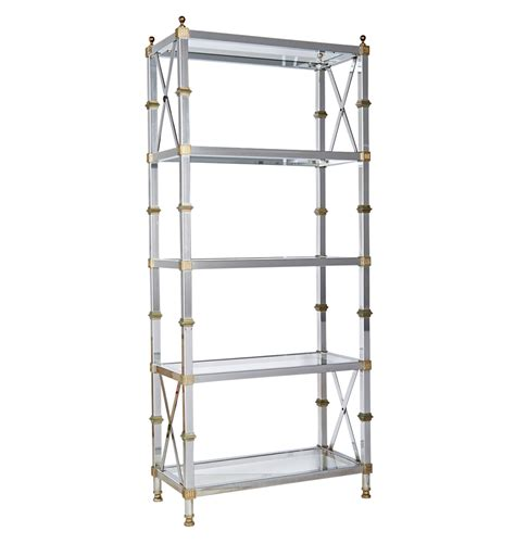 etagere nickel polished brass and nickel plated etagere rejuvenation
