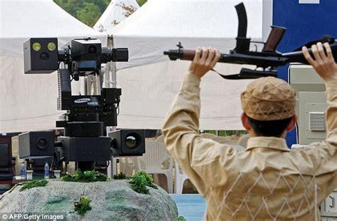film robot systems samsung reveals sgr 1 robot sentry set to keep an eye on