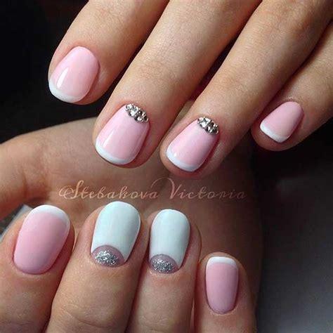Pink Tip Nail Designs