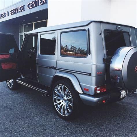 customized g wagon interior jenner fully customizes mercedes g63