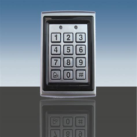 weatherproof keypad rfid for gate garage door strike ebay
