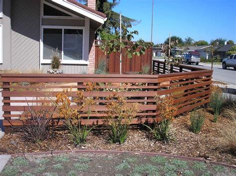 modern backyard fence best 25 horizontal fence ideas on pinterest fencing