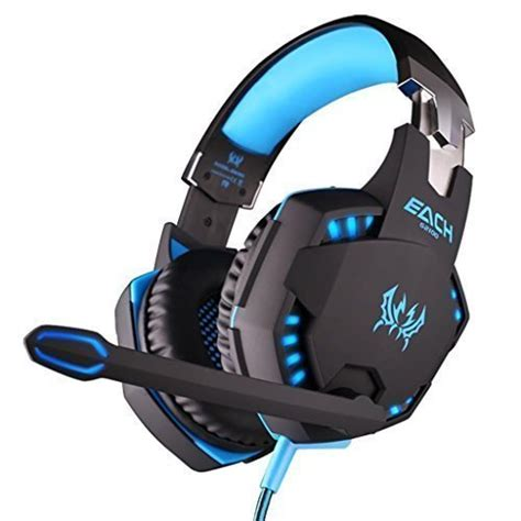 Headphone Canggih easysmx each ear vibration stereo gaming headset with