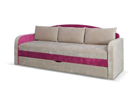 kids bed settee children kids room sofa bed sofabed tenus pink ebay
