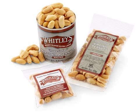 individual packages of salted peanuts whitleys peanut