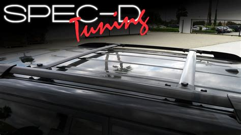 Roof Rack For Toyota Highlander 2013 by Specdtuning Installation 2008 2013 Toyota