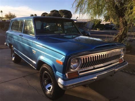 jeep for sale az 1978 jeep wagoneer 2 door classic for sale