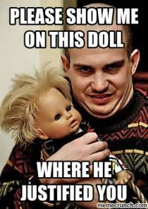 Show Me Meme - please show me on this doll