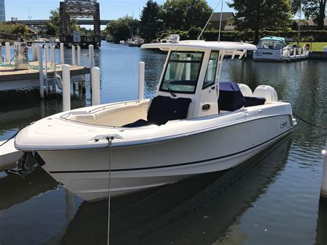 boston whaler boat reviews boston whaler 280 outrage something s fishy boats