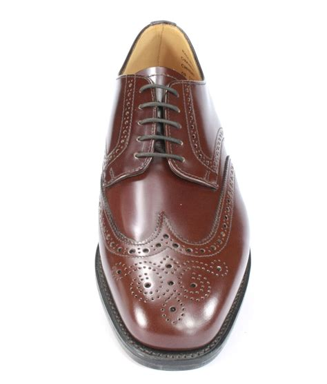 Handmade Mens Shoes Uk - charles horrel handmade in welted wingtip mens