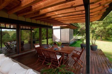 Terrasse Mit Holz 3703 by แบบบ าน บ านโปร งกลางป าท บ