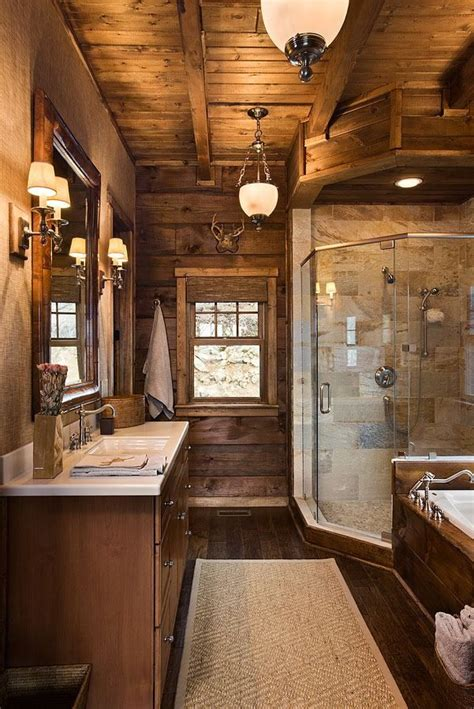Cabin Bathroom Ideas Pin By Kristen On For When We Build Pinterest