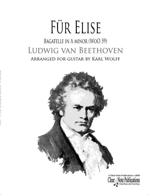 An Essay Review Of Beethovens Fur Elise by F 252 R Elise By Ludwig Beethoven For Guitar