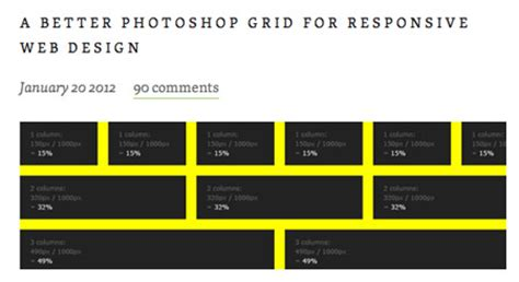 web layout grid template grid based web design resources