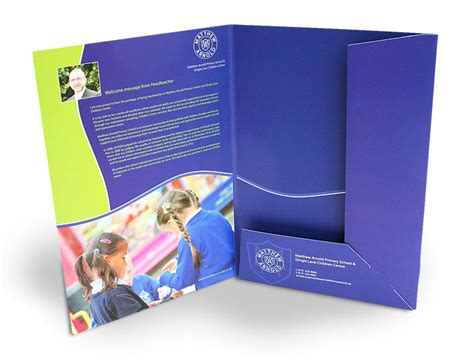 Presentation Folder Printing Print Folders In London Printable Presentation Folders