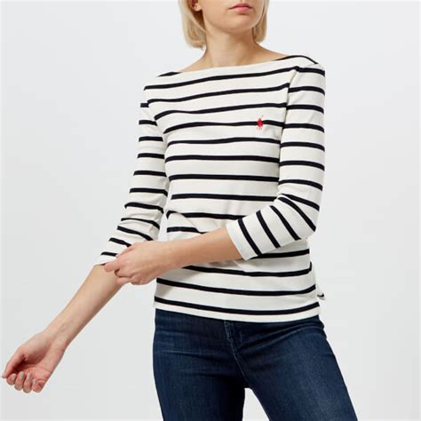 boat neck t shirts uk polo ralph lauren women s striped boat neck t shirt