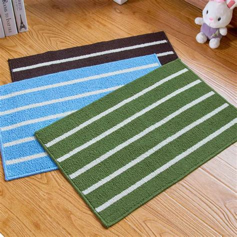 Non Slip Kitchen Rugs Absorbent Non Slip Striped Floor Shower Mat Rug Non Slip Bath Bathroom Kitchen Ebay