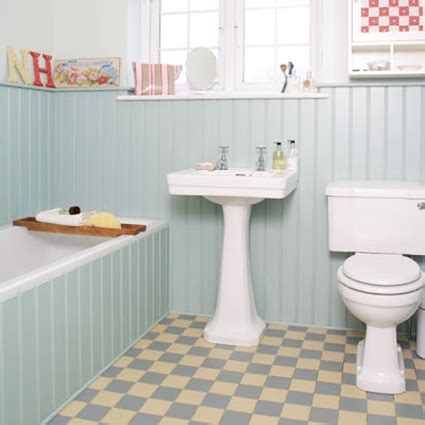 bathroom british english suelos y paredes para un ba 241 o vintage decoraci 243 n de