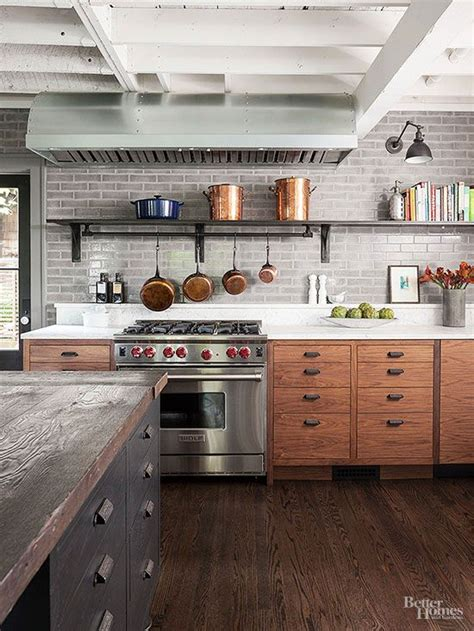 rustic modern kitchen cabinets bhg style spotters